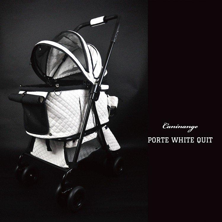 シャンアンジェ 天使のカート ポルテ ホワイトキルト Mサイズ ver.1フレームセット