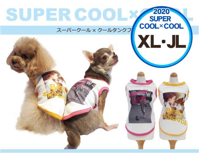 クークチュール スーパークールクール 2020年 夏物 タンクフォト XL/JL